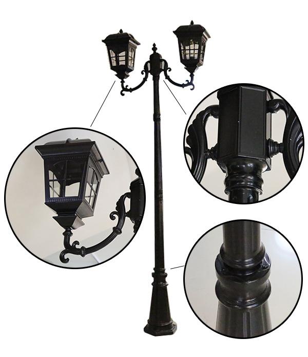 Cột đèn sân vườn cổ điển CD26